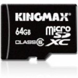 Kingmax sort une MicroSD de 64 Go