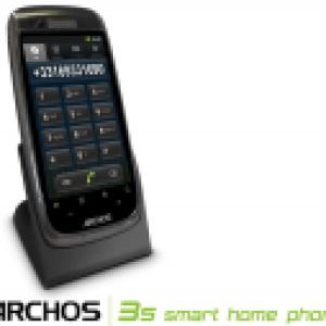 Prise en main du 35 Smart Home Phone d'Archos