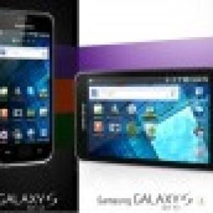 Les Samsung Galaxy Wi-Fi 4″ et 5″ sont arrivés en France