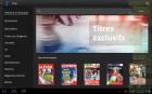 Zinio : un kiosque de magazines pour Honeycomb