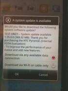 Une mise à jour imminente pour le HTC Sensation