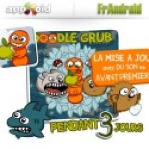 Mise à jour du jeu Doodle Grub, le Snake-like gratuit !