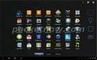 Des photos de l'interface de la HTC Puccini : une tablette de 10 pouces sous Honeycomb