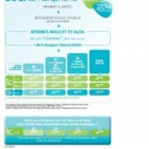 Bouygues Telecom renouvelle ses gammes de forfaits et lance Eden avec de la 3G+ à 42 Mbps