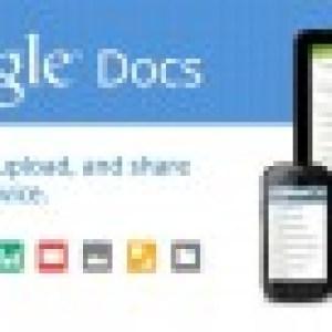 L'interface de Google Documents a été revisitée sous Honeycomb