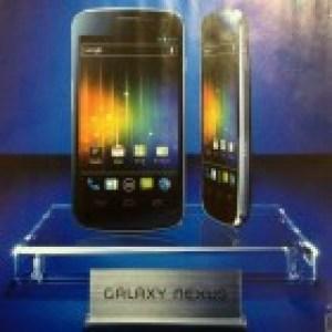 Le Galaxy Nexus semble se confirmer pour novembre au Japon