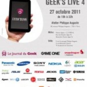 Geek's Live 4 : Qui sera présent ?