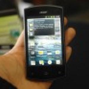 Prise en main de l'Acer Liquid Express sous Android 2.3