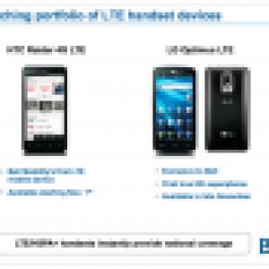 En plus de sortir en Corée, Bell va également proposer le LG Optimus LTE