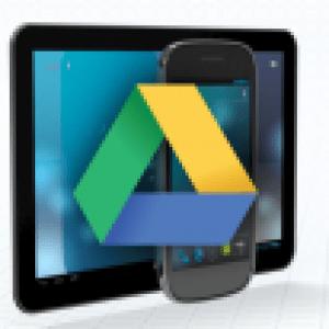Google Drive, un facteur de succès pour les tablettes Android ?