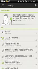 Testez la nouvelle version de Spotify pour Android