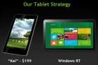 Nvidia Kai, une nouvelle architecture quad-core pour les tablettes à moins de 200 dollars