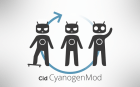 CyanogenMod 9 RC2 est maintenant disponible et supporte les Samsung Galaxy S III et Tab 2 10.1