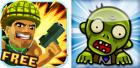 Deux nouveaux jeux Android : Major Mayhem et Bomb the Zombies