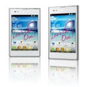 Septembre pour le LG Optimus Vu en Europe