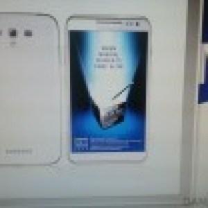 Galaxy Note 2, une nouvelle apparition en photo et une confirmation pour l'annonce officielle ? (màj : fake?)