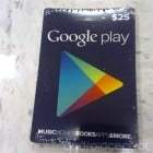Des cartes cadeaux Google Play