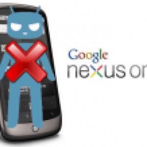 CyanogenMod dit STOP au Nexus One, HTC Desire et autres Snapdragon S1