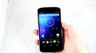 Vidéo de prise en main du LG Nexus 4 avec Android 4.2