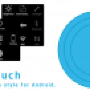 Easy Touch – Accédez en un clic aux réglages système et à vos applications favorites