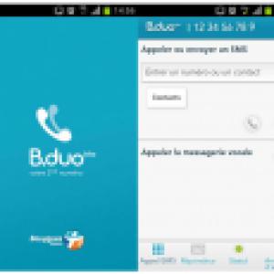 Bouygues Telecom lance B.duo, un second numéro sur le même mobile