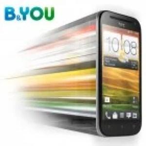 B&YOU : le HTC One SV à 389 euros «nu»