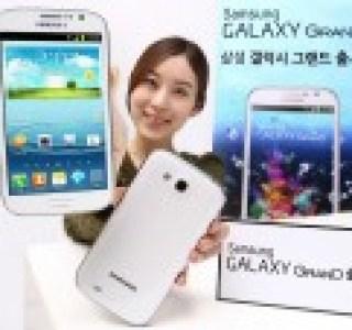 Le Samsung Galaxy Grand est officiel : 5 pouces, Quad-Core et 1 Go de RAM