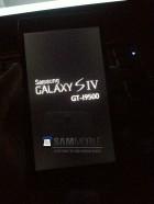 Samsung, une première apparition du Galaxy S4 ?