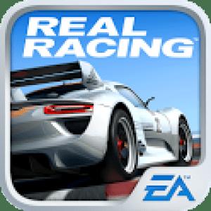 Le jeu Real Racing 3 est disponible sur le Google Play