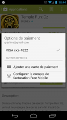 Google Play, le paiement sur la facture sera également disponible chez les autres opérateurs français