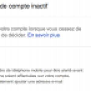 Google lance la fonctionnalité « gestionnaire de compte inactif »