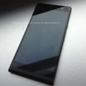Huawei Ascend P6, le prototype 'P6-U06' se dévoile en noir