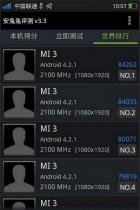 Un benchmark de plus de 80 000 sur AnTuTu pour le Xiaomi Mi3 ?
