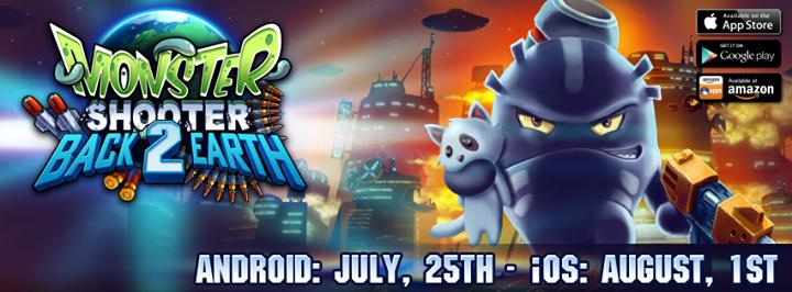 Sortie de Monster Shooter 2: Back to Earth sur Android, la semaine prochaine sur iOS