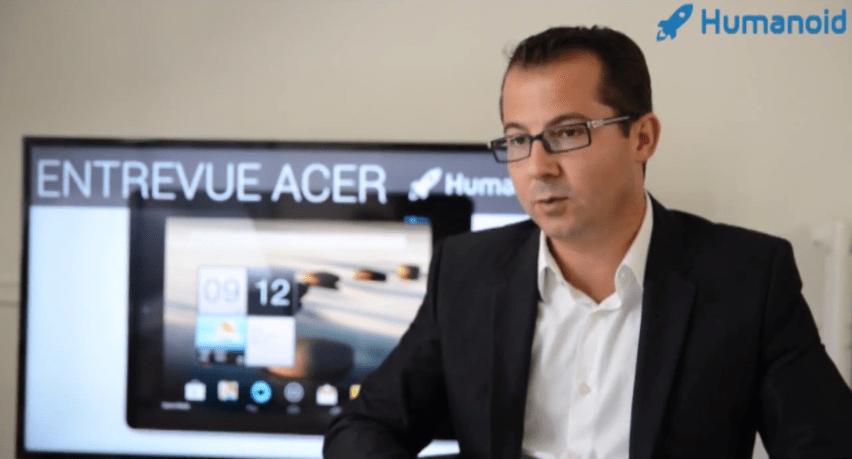 Entrevue avec Angelo d'Ambrosio, directeur de la division grand public Acer