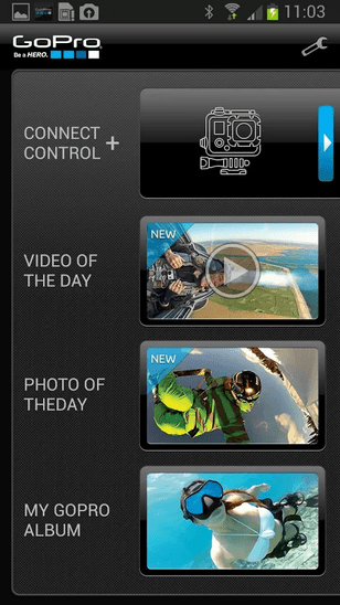 GoPro passe son application en 2.0 sur Android (et iOS)