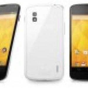 Google : le Nexus 4 blanc arrive également au Canada