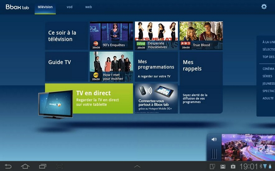La version 2.0 de Bbox Tab est disponible