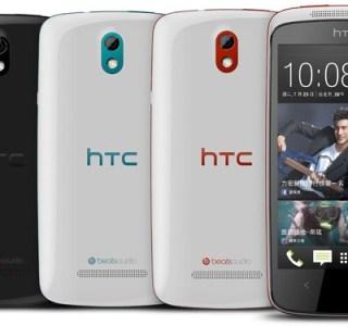 HTC officialise son Desire 500 à Taïwan