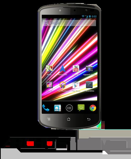 Archos annonce également un smartphone premium, l'Archos 50 Oxygen