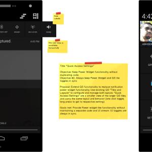 CyanogenMod simplifie l'affichage des actions rapides dans la barre de notifications