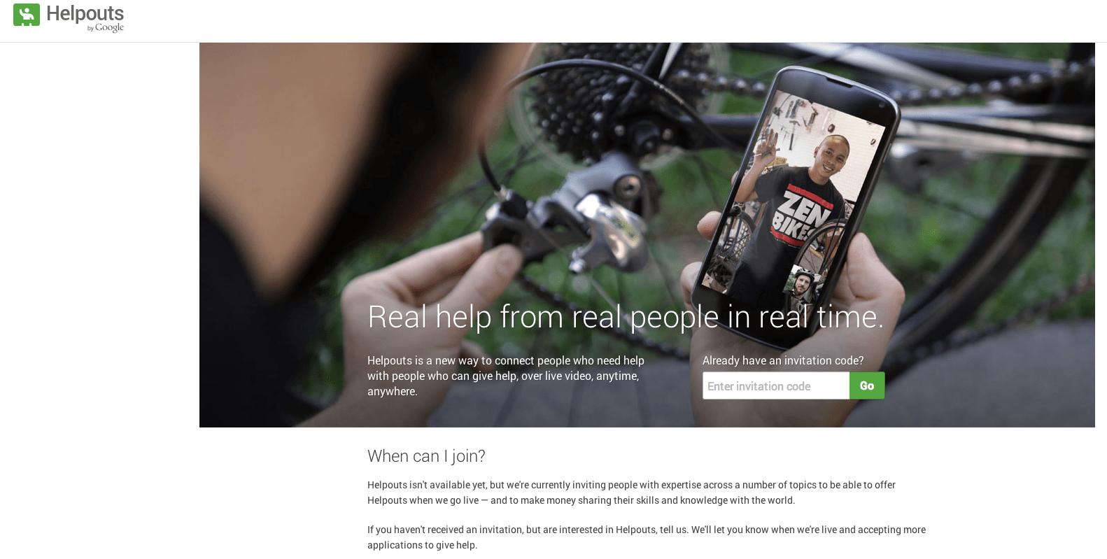 Helpouts, le service de partage des compétences de Google est officiel