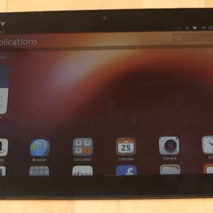 Ubuntu Touch sur Sony Xperia Tablet Z, c'est fait !