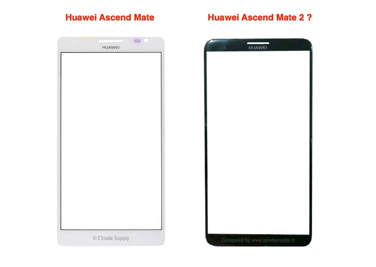 La dalle du Huawei Ascend Mate 2 en fuite ?