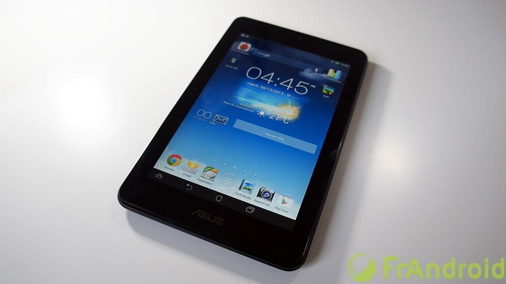 Test de l'Asus MeMO Pad HD 7, la soeur de la Nexus 7 (2012)