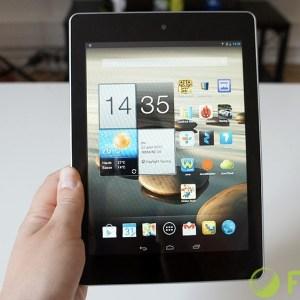 Test de la Acer Iconia A1, une tablette d'entrée de gamme