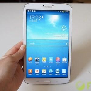 Test de la Samsung Galaxy Tab 3 8.0