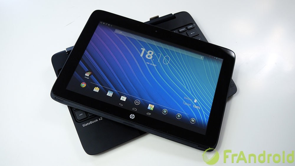 Test de la HP Slatebook x2 : une tablette Android avec processeur NVIDIA Tegra 4