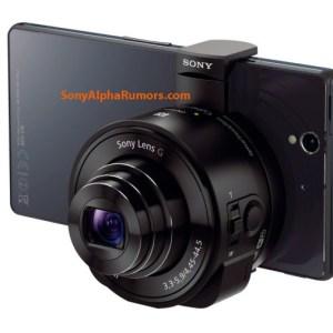 Fuites : Sony préparerait deux modules couplant objectif et capteur à connecter aux appareils mobiles