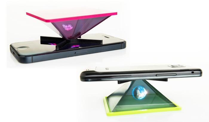 Holho : un générateur d'hologrammes pour smartphone